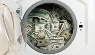 Money being laundered