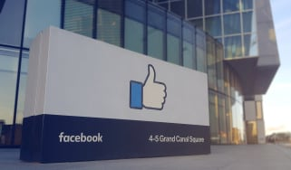 Facebook's Irish headquarters at 4-5 Grand Canal Square in Dublin