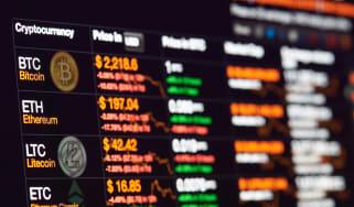 Cryptocyrrency stock markets