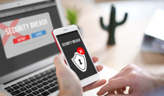 security breach alerts on a mobile