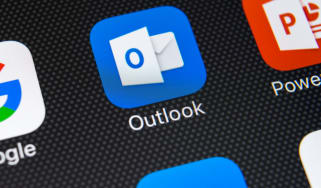 Microsoft's Outlook app on a smartphone