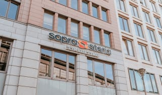 Facade of Sopra Steria headquarters
