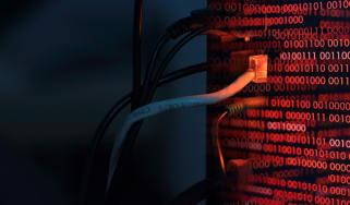 Computer virus transfer into a desktop PC by internet LAN line