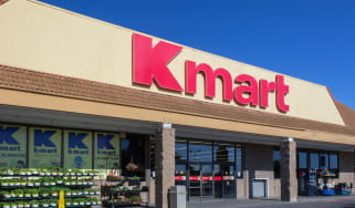 The exterior of an old Kmart store located in California, USA