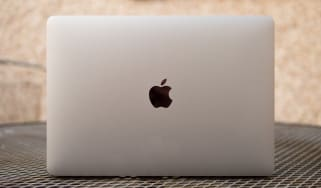Apple MacBook Pro 13in (Apple M1, 2020) lid from the rear