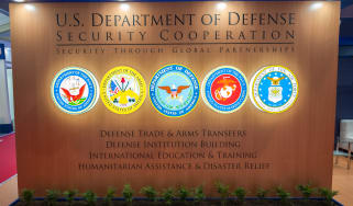 Department of Defense sign