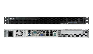 Broadberry CyberServe Xeon E-RS100-E10 front and rear