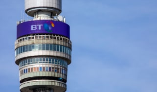 The BT tower in Central London