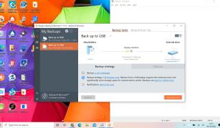 Screenshot of Paragon Backup Recovery software