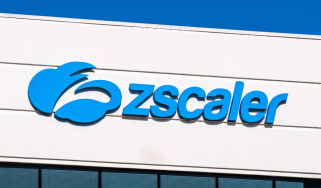 Zscaler logo on the side of a building