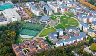 A birds-eye view of the University of Hertfordshire