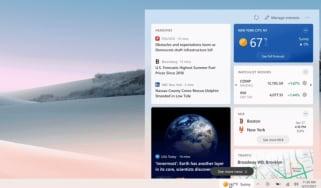 The new Windows 10 taskbar