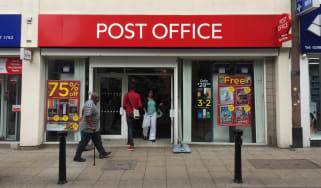 The exterior of the post office on October 14th, 2017, in London, England, UK