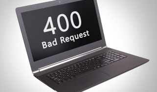 """400 Bad Request"" on a computer screen"