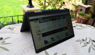 The Dynabook Portege X30W-J-10C as a tablet