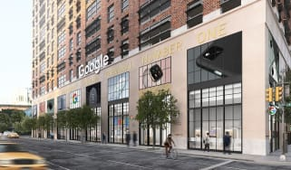 Digital rendering of Google's first physical store in New York
