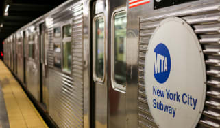 New Your City subway train
