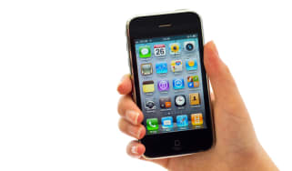 The iPhone 3G with iOS 4