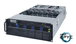 A Gigabyte G482-Z54 server