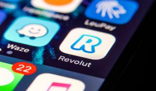 The Revolut mobile app
