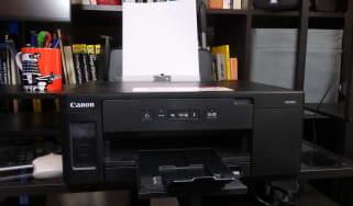 A photograph of the Canon PIXMA GM2050 Inkjet Monochrome Printer