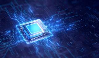 Graphic of a processor in a circuit board
