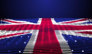 A digital depiction of the Union Jack flag