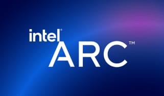 The Intel Arc logo