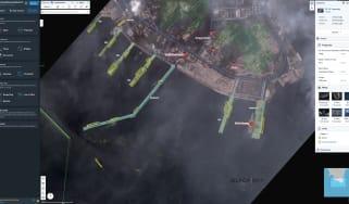 Satellite imagery from BlackSky