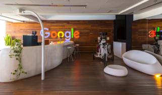 Interior view of Google Office in Tel Aviv