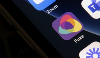 Fuze mobile app icon on an iPhone display