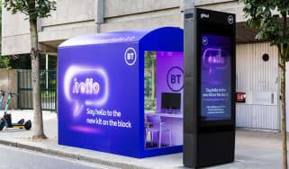 The BT Street Hub 2.0 kiosk