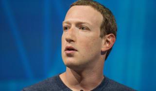 Mark Zuckerberg on stage