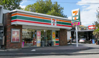 A view of a 7-Eleven convenience store located in Melbourne Australia