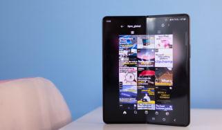 Samsung's Galaxy Z Fold 3, unfolded