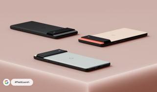 Google's Pixel 6 smartphones