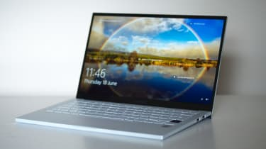 Samsung Galaxy Book Ion - front three-quarter view