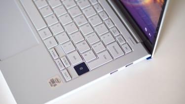Samsung Galaxy Book Ion - keyboard angled