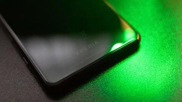 Sony Xperia 5II - Rear logo detail