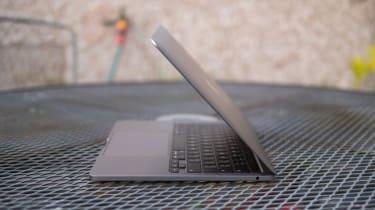 Apple M1 MacBook Pro 13in side view