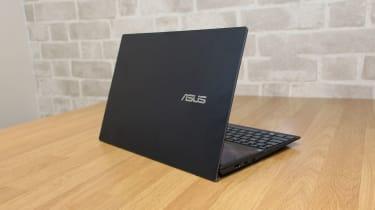 Asus ZenBook Duo 14 UX482 rear view
