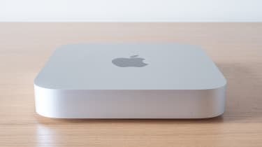 Apple Mac mini (Apple M1, 2020) side profile