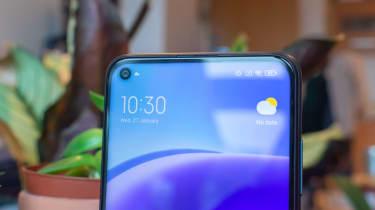 Xiaomi Redmi Note 9T front camera