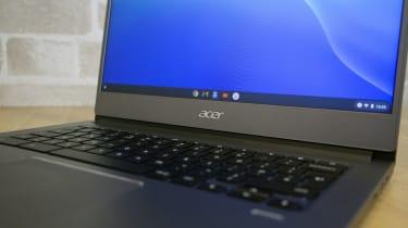 Acer Chromebook 714 logo detail