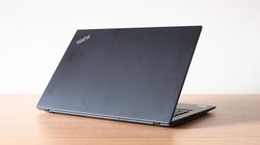 Lenovo ThinkPad T14s (AMD Ryzen) rear view