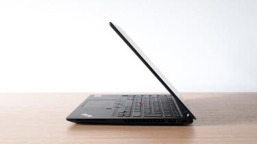 Lenovo ThinkPad T14s (AMD Ryzen) side view