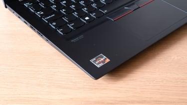 Lenovo ThinkPad T14s (AMD Ryzen) logo detail