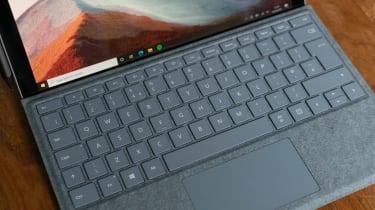 Microsoft Surface Pro 7+ TypeCover keyboard