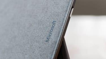 Microsoft Surface Pro 7+ Microsoft logo