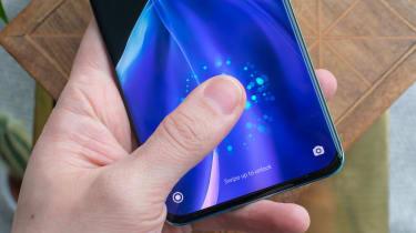 The Xiaomi Mi 11 fingerprint scanner